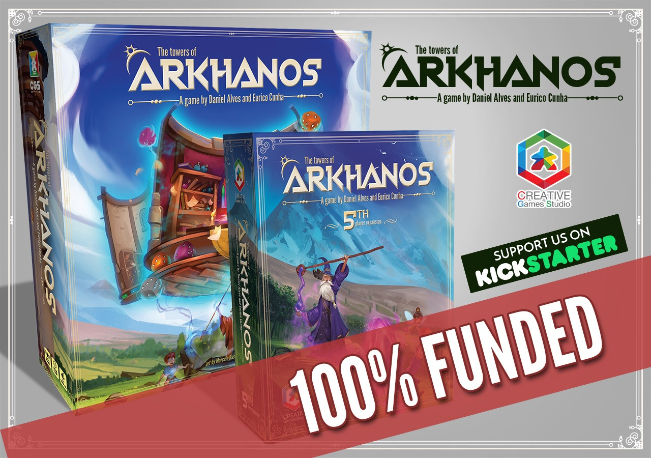 THANK YOU!!! ARKHANOS IS 100% FUNDED!!!!