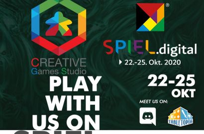 Come meet us and our new project at SPIEL DIGITAL!